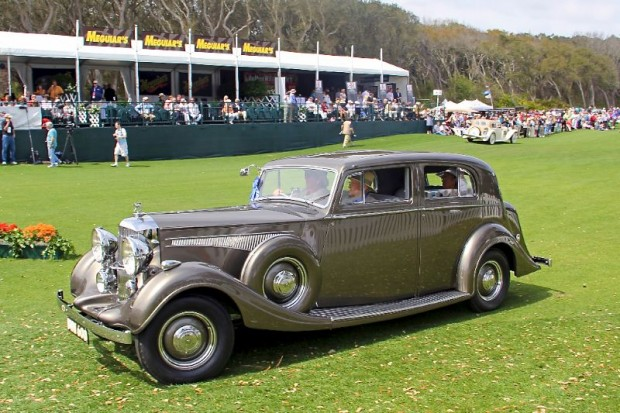 1937 Railton 4 Door Saloon