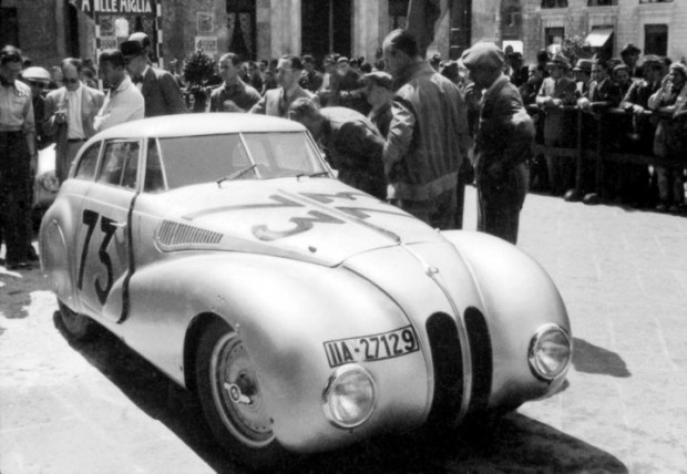 BMW 328 Kamm Coupe at the Mille Miglia