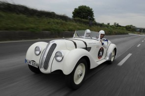 BMW 328 on Mille Miglia