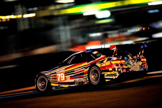 Jeff Koons BMW M3 GTR Art Car at 24 Hours of Le Mans 2010