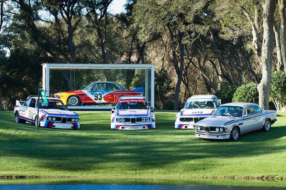 BMW CSL Race Cars