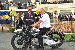 BMW R7 wins Best of Class at Pebble Beach Concours 2012