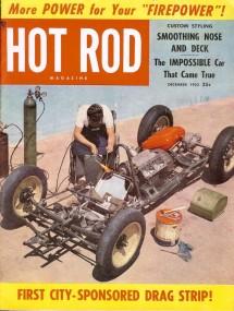 December 1952 issue of Hot Rod Magazine