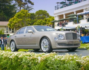 The 2011 Bentley Mulsanne made its world debut at the Pebble Beach Concours d'Elegance.
