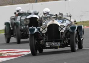 All-Bentley Race at Donington