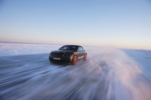 Bentley Supersports Ice Record