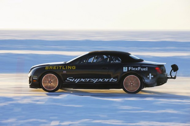 Bentley Supersports Ice Record Side