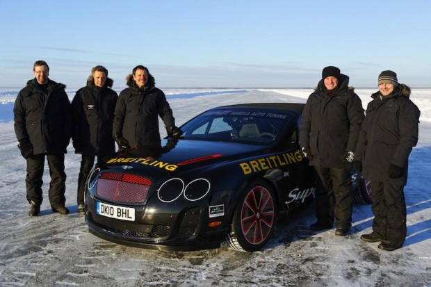 Bentley Supersports Ice Record Team