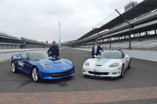 Bloomington Gold Corvettes at IMS