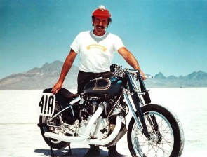 Marty Dickerson, 1948 Vincent Rapide Racer, The Blue Bike