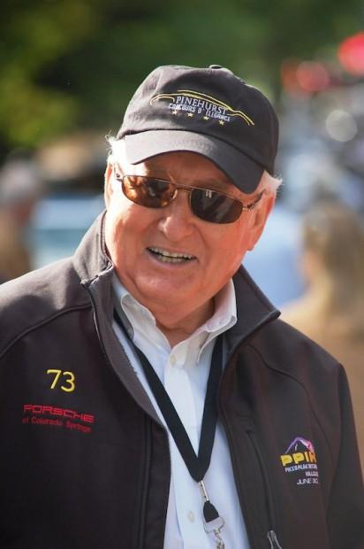 Bob Ingram, Chairman of the Pinehurst Concours d'Elegance