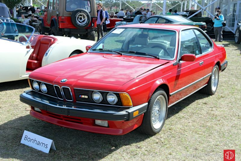 1987 BMW M635CSi Coupe