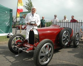Brooklands Double Twelve Trophy Winner - Chris Jaques, Bugatti Type 35 GP