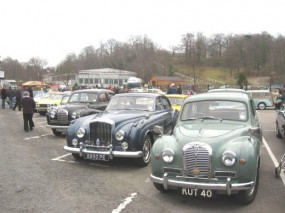 Brooklands New Years Day Gathering