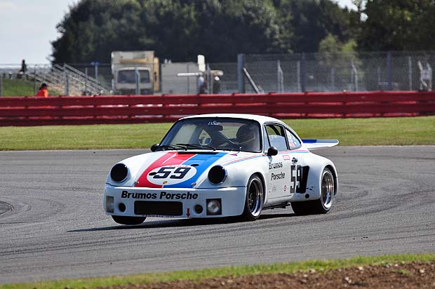 Brumos Porsche 911 RSR 3L of Jean Louise Bonnet and Francois Luc Brossel. Photo: Simon Wright