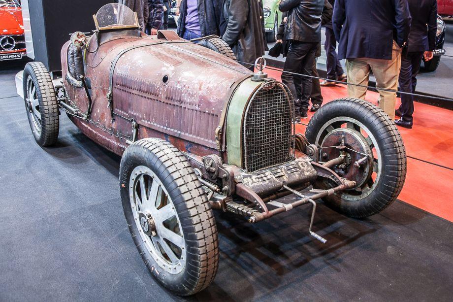 Bugatti T35B - Lukas Huni stand