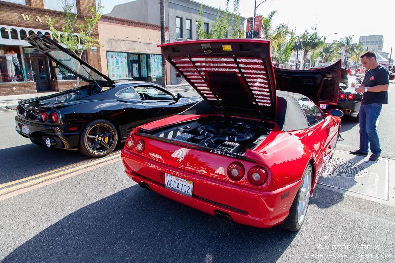 Decklid salute! Ferrari 360 Modema and F355 Spider.