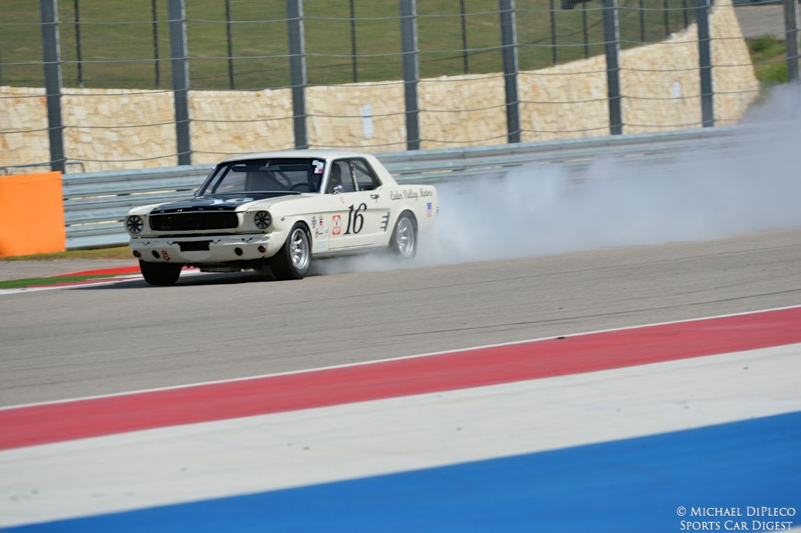 Boom, 1966 Ford Mustang.