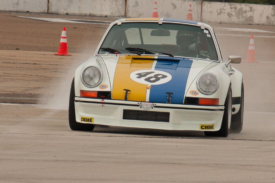 Erich Joiner's 1972 Porsche 911 Carrera RSR.