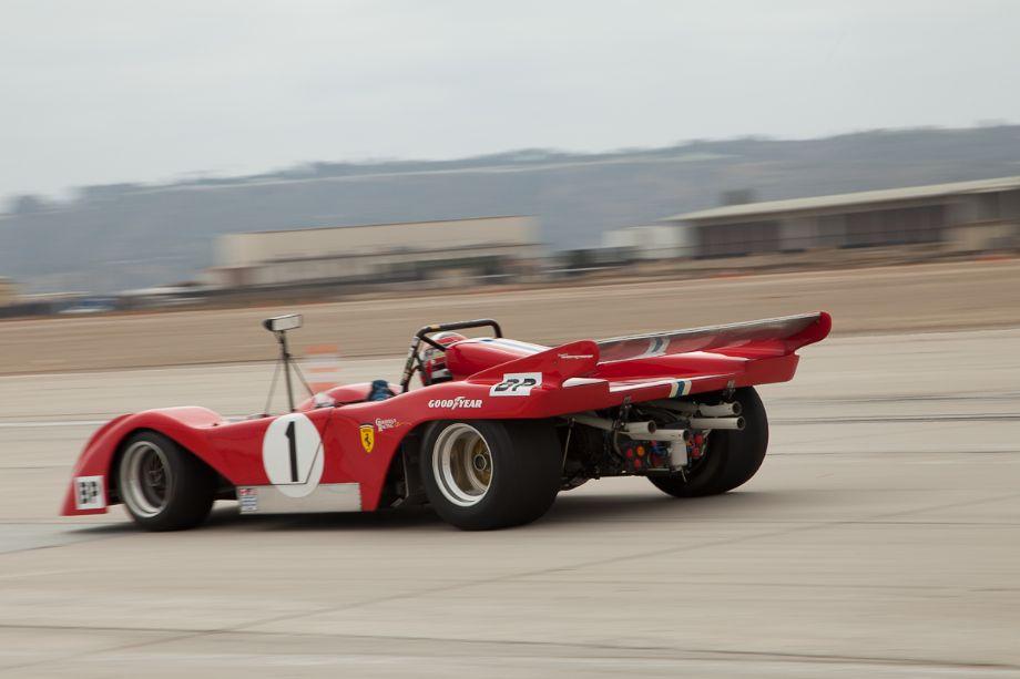 John Goodman's 1972 Ferrari 312P Special.