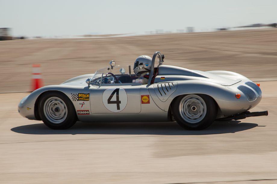 Bill Lyon's 1960 Porsche RS 60.