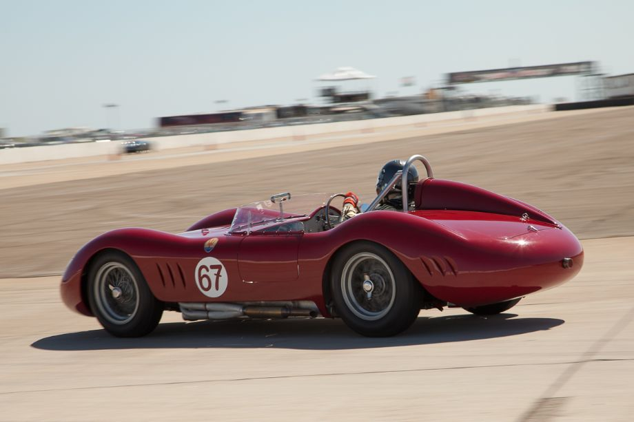 The 1957 Maserati 200 Si of Ned Spieker.