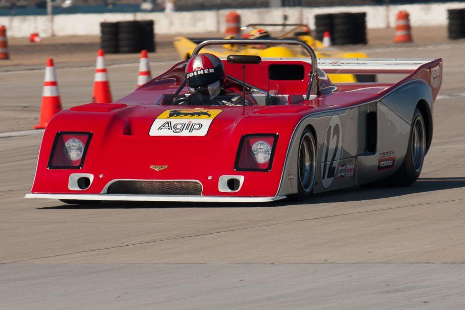 Erich Joiner, qualifying the 1977 Chevron B36.