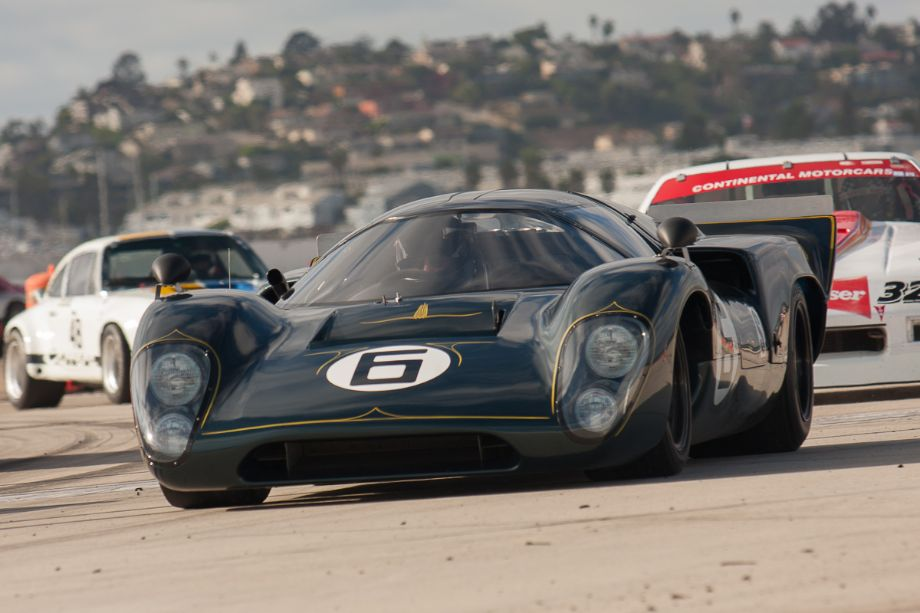 If Darth Vadar drove a race car, it would be Tom Malloy's 1969 Lola T70 Mk3B!