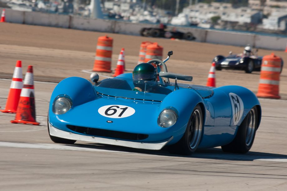 Tom Byrnes and his 1964 Brabham BT 8 during Sunday's race.