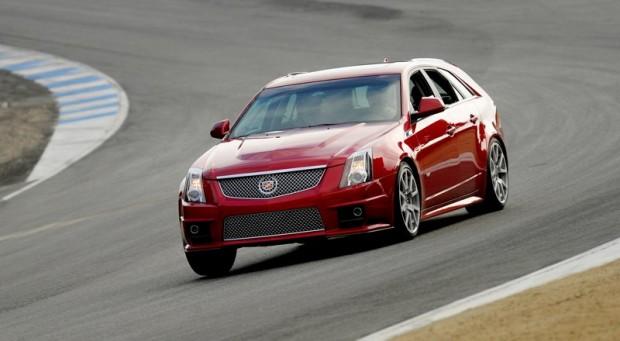 Cadillac CTS-V Wagon - Mazda Raceway Laguna Seca