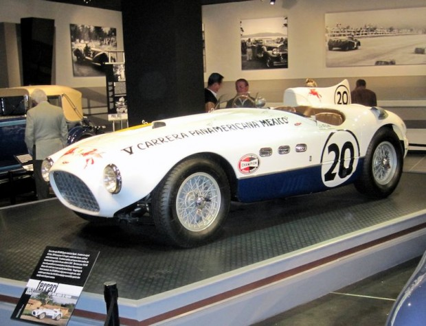 1953 Ferrari 375MM Vignale Phil Hill Carrera Panamericana