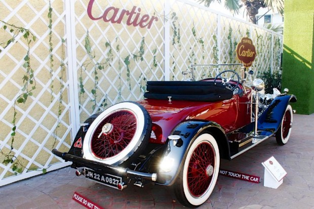 This striking Rolls-Royce Doctor's Coupe won many an award at one of India's oldest vintage car rallies in Calcutta before coming to Bombay for the Cartier Concours.