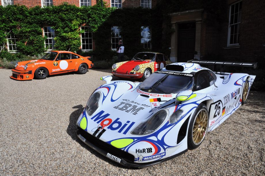 Porsche 911 GT1, winner at Le Mans 1998