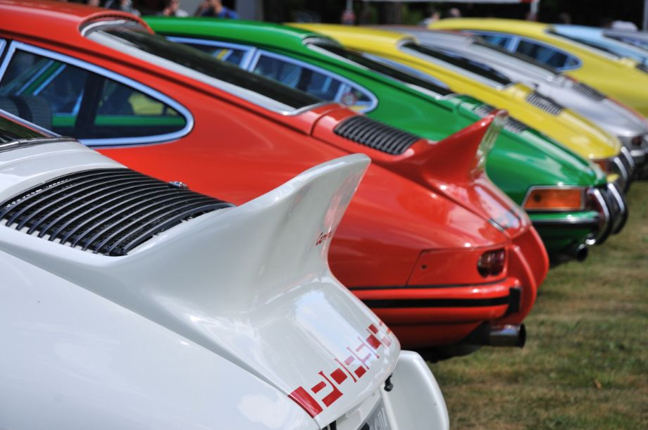 RS Duck Tails at Classics at the Castle 2013