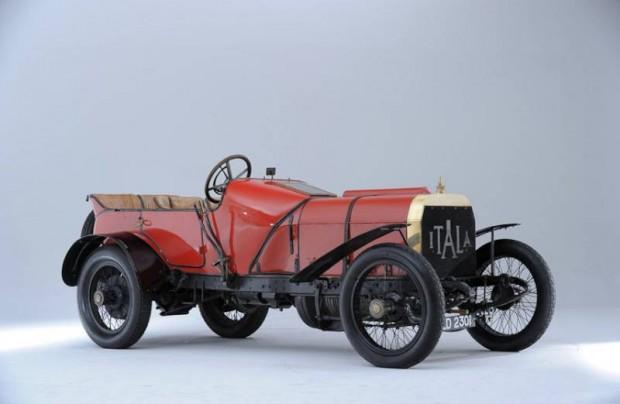 1908 Itala 12-Liter Grand Prix Car
