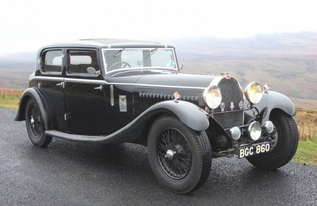 1930 Bugatti Type 46 Sport Sedan