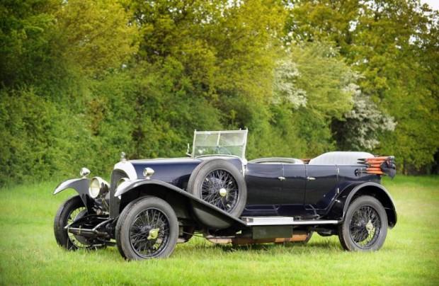 1925 Bentley 3-Liter Tourer, Body by Gurney Nutting