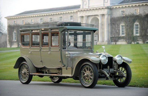 1912 Rolls-Royce 40-50hp Silver Ghost Double Pullman Limousine