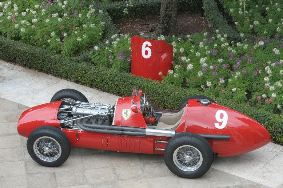 1952 Ferrari Type 625/500 Serial 0210.