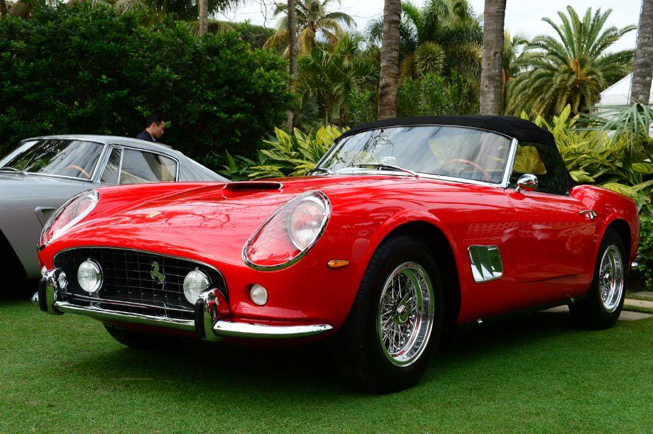 1963 Ferrari 250 GT SWB California serial number 4137 GT