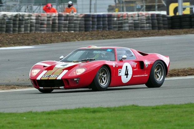 Ford GT40 of Anthony and Ollie Hancock
