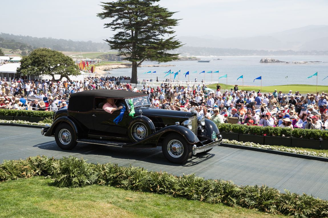 American Classic Open Packard - 1934 Packard 1107 Twelve Convertible Victoria, Laura and Jack B. Smith Jr.
