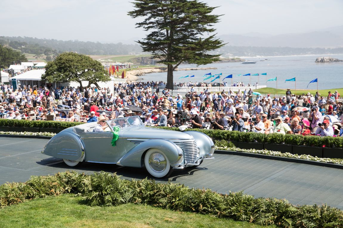 European Classic Late and Gwenn Graham Most Elegant Convertible - 1937 Delahaye 145 Franay Cabriolet, Sam and Emily Mann