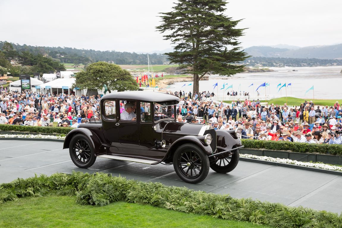 Class A-2: Antique Closed, 1915 Pierce-Arrow 48 Coupe, Patrick D. & Kathryn A. Craig, Stockton, California