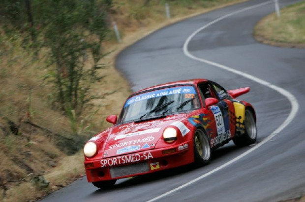 Roger Paterson Paul Whatnell finished 3rd overall in Late Classic with their 1974 Porsche 911RS
