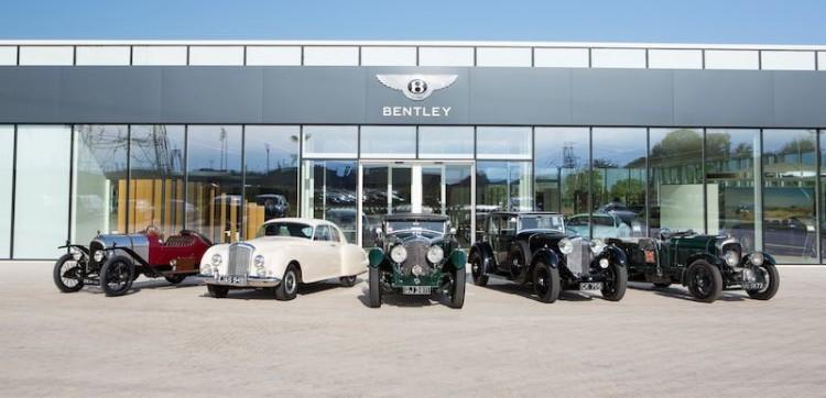 Classic Bentleys ready for 2015 summer season