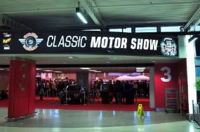 Classic Motor Show Entrance