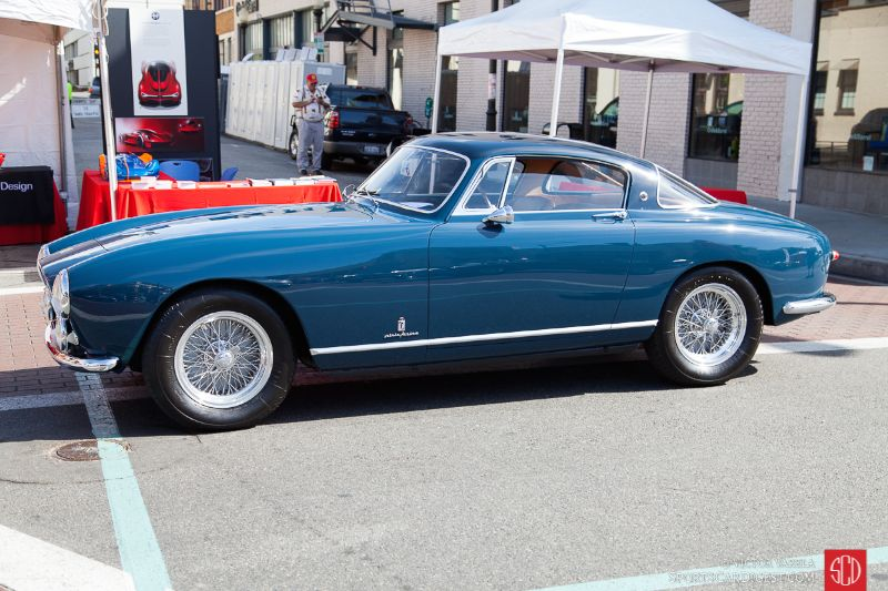 1955 Ferrari 250 Europa GT owned by Charles Betz