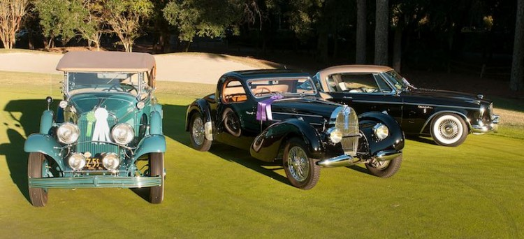 Winners at the 2014 Hilton Head Concours d'Elegance