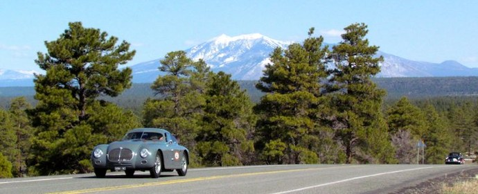 Alfa Romeo 6C 2500 SS on 2012 Copperstate 1000 Rally